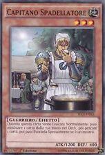 Capitano Spadellatore YU-GI-OH! SECE-IT043 Ita COMMON 1 Ed.