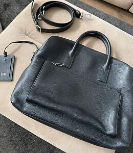 Hugo Boss - Laptop/Document Premium Leather bag