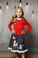 NWT LEMON LOVES LIME Snow White Story Book Dress Red Girls sz 5
