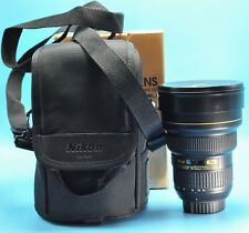 Nikon NIKKOR 2163 14-24mm f/2.8 AS G SWM AF-S IF N ED M/A Lens Exc+++++in Box