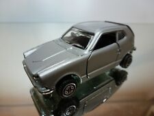 POLITOYS E38 - HONDA COUPE Z - RHD - SILVER 1:43 - GOOD CONDITION