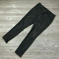 Express Mid-Rise Stretch Black Ankle Jeggings Skinny Jeans Women's Sz. 8 C12