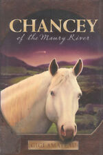 Chancey  Albino Appaloosa Therapeutic Riding Horse Story Book HC DJ Gigi Amateau