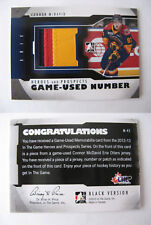 2012-13 ITG Heroes and Prospects M-45 Connor McDavid 1/6 game used number RC