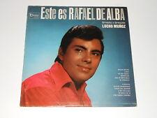 Lucho Muñoz-LP-lo este de rafael alba-gema Records lpg-3038 - Latin