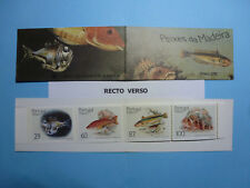 LOT 11095 TIMBRES STAMP CARNET FAUNE POISSON MADERE MADEIRA PORTUGAL ANNEE 1989