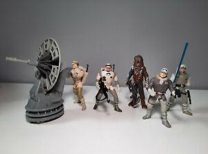 5 Star Wars Rebellen Figuren 3.75 Inch  Sammlung Hoth Hasbro POTF2 aus Episode 5