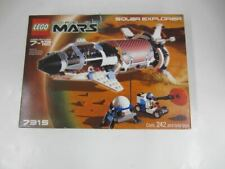 Lego Life On Mars 7315 SOLAR EXPLORER Complete w/Box & Manual