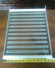 "Cantilever Slide Tempered Glass Shelf Kitchenaid Refrigerator 14"" x 18.5"""