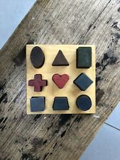 Wooden Story Shapes Puzzle
