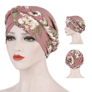 Print muslim turban scarf for women islamic inner hijab caps Arab head scar P3