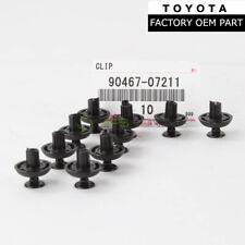 Genuine Toyota Lexus Grille Bumper Push Retainer Clips Set Of 10 Oem 90467-07211