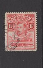 BASUTOLAND GEORGE VI 1d RED Nice Used