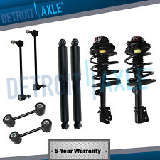 1996-2000 fwd caravan grand voyager front strut & rear shocks sway bar link  kit