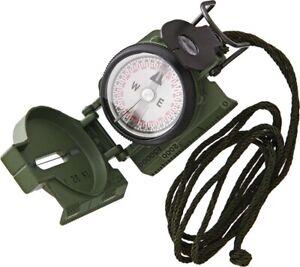 Cammenga CG27 Phosphorescent Lensatic Compass Olive Drab - Northern Hemisphere