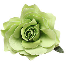 Bridal Rose Flower Hair Clip Hairpin Brooch Wedding Accessorie Bridesmaid QC