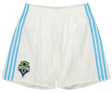 adidas Men's MLS Adizero Team Replica Short, Seattle Sounders FC- White