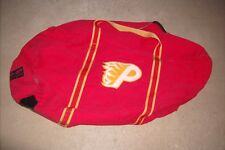 CALGARY FLAMES rare used equipment bag 1993-94 defunct affiliate in Pueblo, Colo