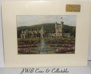 Print of Balmoral Castle, Deeside Aberdeenshire by Sue Firth