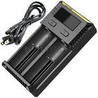 Nitecore NEW-i2 Universal Battery Charger 2-Slot Smart Charging Li-ion/IMR/Ni-MH