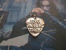 The Crow Pick of Eric Draven pendant made sterling silver 925-artisan product