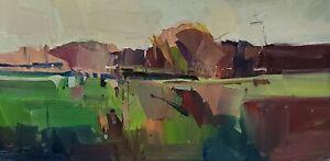 JOSE TRUJILLO Oil Painting IMPRESSIONISM Contemporary Landscape MODERN ART COA