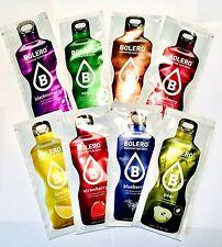 12 x Bolero drink instant fruit variety pack health sugar & gluten free sachet