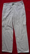 Damen - Stoffhose Modell Rosner Gr 40 weiß  100% Baumwolle  gebraucht