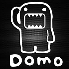 Domo Kun Sticker Motorcycle Laptop Window Vinyl Wall Truck Glass Bumper Decal