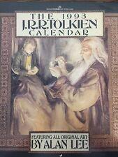 The 1993 JRR Tolkien Calendar Featuring All Original Art By Alan Lee
