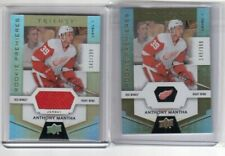 2016-17 Triolgy Rookie Premieres Base and Jersey Cards Anthony Mantha Red Wings