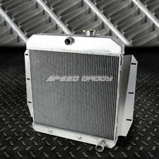 FOR 55-59 CHEVY/GMC 100/150 TRUCK PICKUP l6/V8 3-ROW ALUMINUM RACING RADIATOR