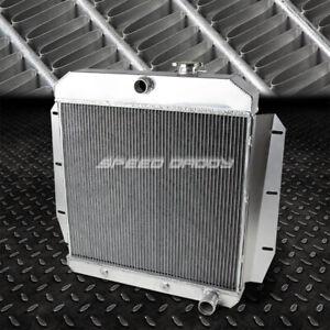 FOR 55-59 CHEVY/GMC 100/150 TRUCK PICKUP l6/V8 3-ROW ALUMINUM RACING RADIATOR