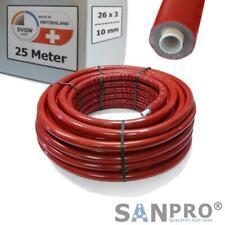 25 M Alluminio Tubo Composito 26x3 Con 10 MM Isolamento - Dvgw Tubo a Strati