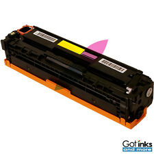 Yellow Toner Cartridge for HP 125A CB542A LaserJet CP1210 CP1215 CP1515N CP1518