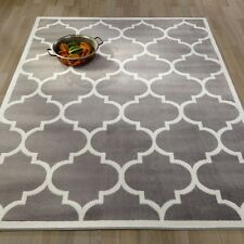 8' x 10' Large Modern Indoor Outdoor Area Rug Low Profile Polypropylene Carpet