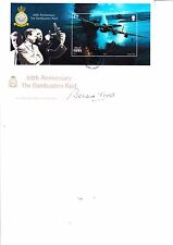 Isle of Man 60th anniversary Dambusters FDC signed by RIchard Todd