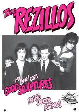 "REZILLOS -Good Sculptures Retro Punk Poster A1 Size 84.1cm x 59.4cm - 33"" x 24"""