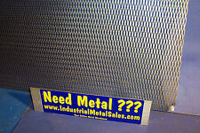"Expanded Metal Sheet Diamond Pattern .035"" x 12"" x 48"" ->1/4""-#20 Expanded Steel"