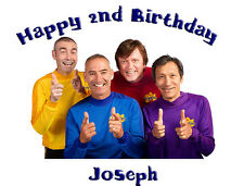 The Wiggles Premium Frosting Sheet Cake Topper FREE Personalization