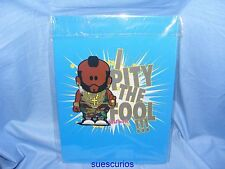Metal Tin Advertising Film Sign A Team Weenicons Mr T Pity The Fool Present