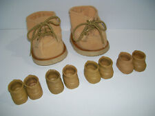 Lot of FURSKINS Doll Shoes