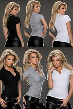 Party Kurzarm Damen-Poloshirts