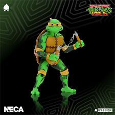 NECA - TMNT Michaelangelo Turtles in Time A/Figure [IN STOCK] • NEW & OFFICIAL •