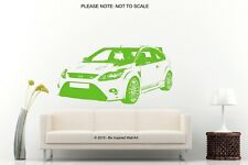 Ford Focus RS * 2008 - 2011 * - Wall Art Sticker