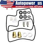 2*Carburetor Carb Repair Rebuild Kit Fits Honda VT700 VT750 VT1100 Shadow