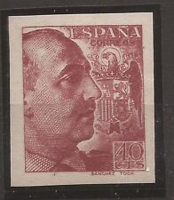 1940-45 Franco Edifil 870ccs** VC 125,00€ LUJO!!