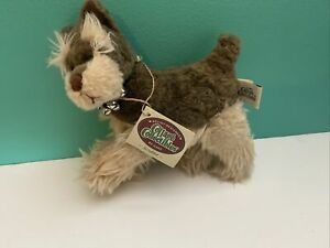 (z70) Ganz Mary Holstad  Cottage Collectibles Mini plush Schnauzer Scrubber 1997