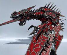 warhammer 40k chaos space marine heldrake painted - World Bearers Detachment