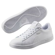 Puma Smash v2L Unisex Adulto Zapatillas Retro de Deporte 365215 Blanco